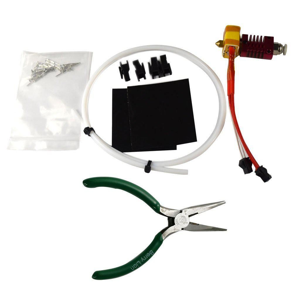 Extruder 0.4mm Nozzle Kit For Hot End 1.75mm Creality CR-10 3D Printer