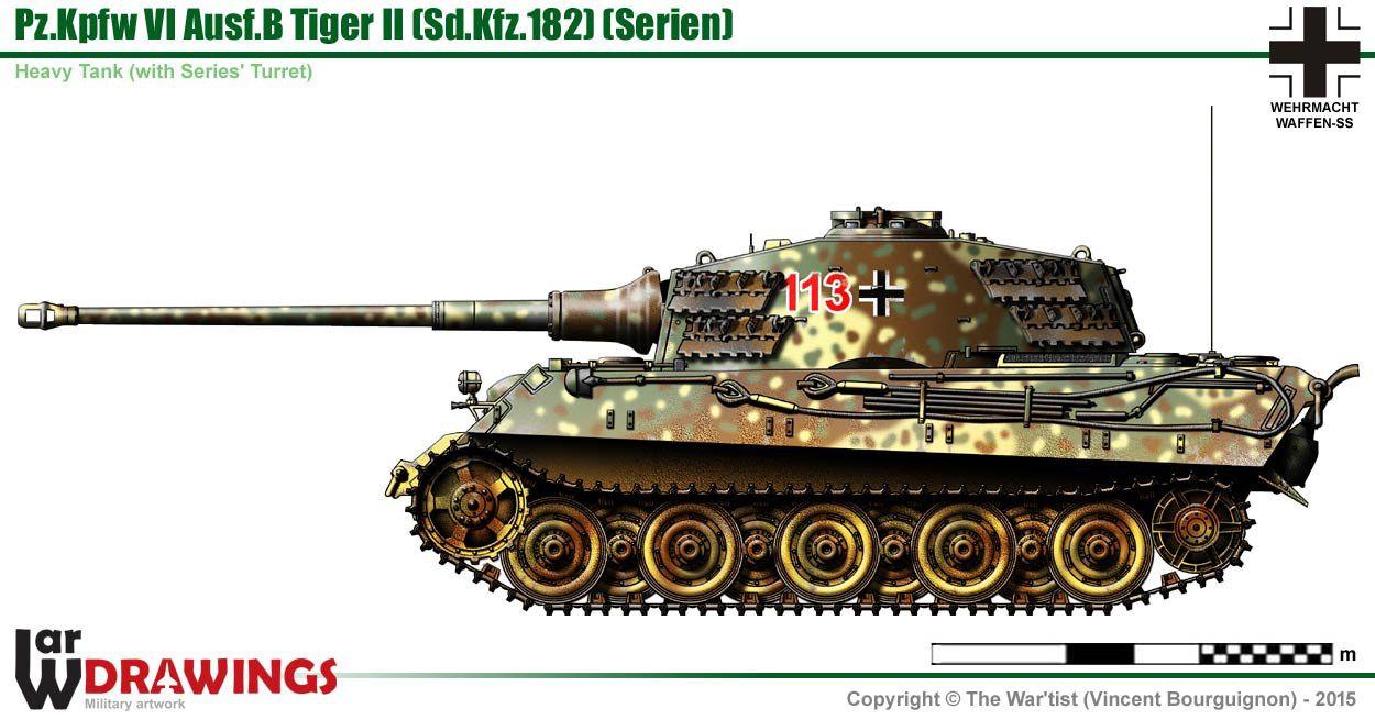 Entfernungsmesser Panzer : Panzer vi ausf b königstiger serien turm military