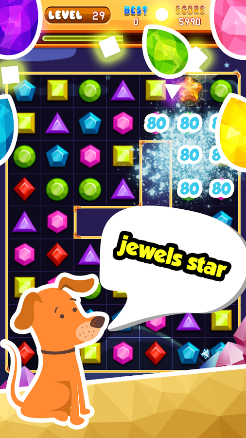 Jewel Quest is an amazing match3 puzzle game. JewelQuest