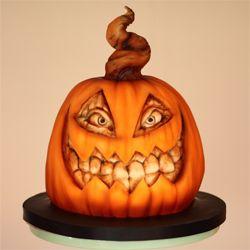 Cake Boss Scuplted Halloween Pumpkin Cake Halloween Cakes