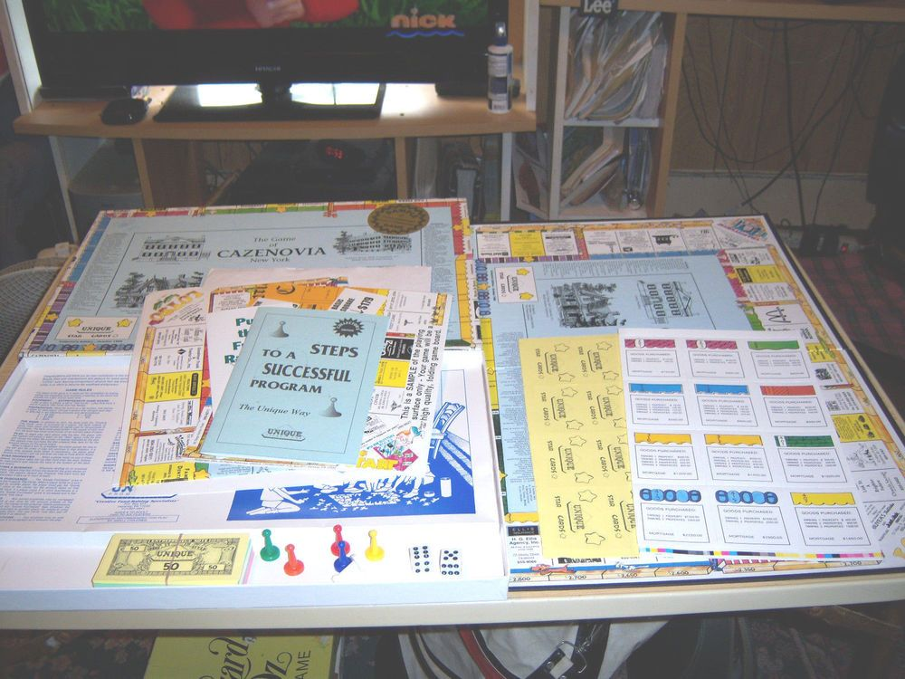 Advertisement Promotional Fundraising Board Game SAMPLE Unique Promotion #UniquePromotions