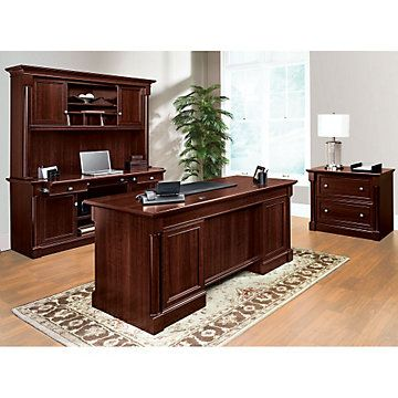 Palladia Office Set Ofg Ex1186 Computer Desks Traditional Furniture Executive Desk Cre Sauder Office Furniture Best Home Office Desk Home Office Furniture