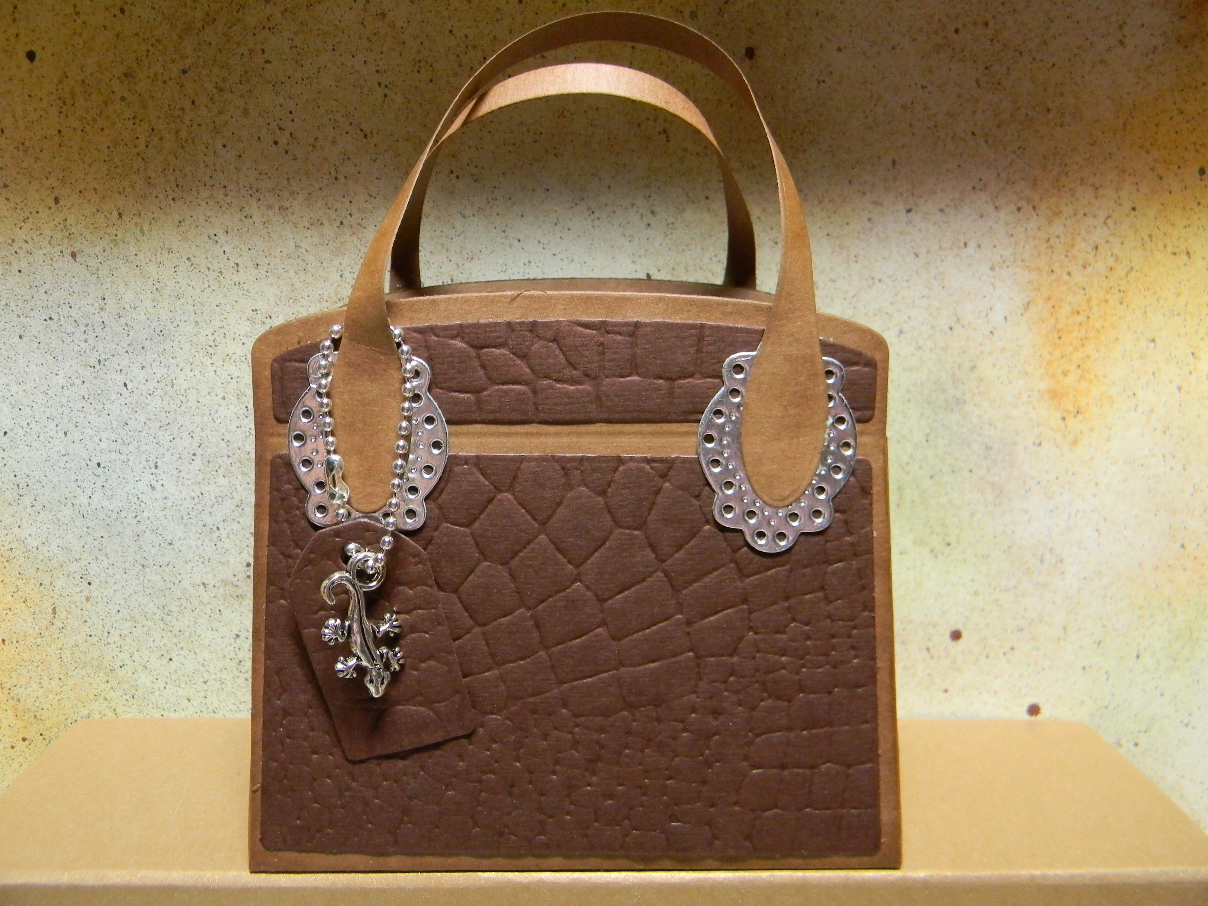 Tonic Kensington Handbag Die Set By Lizzy Coppus With Images