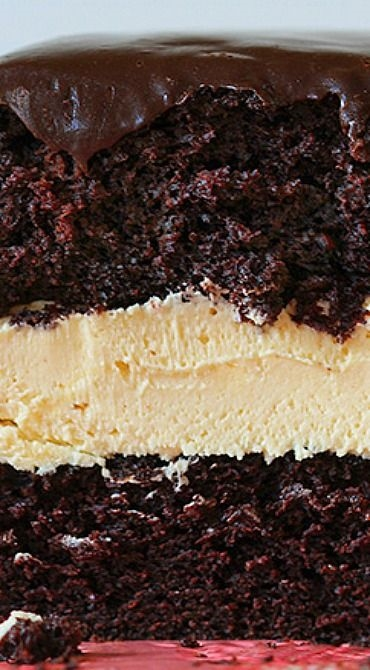 Biscoff Buckeye Cake #delicious #recipe #cake #desserts #dessertrecipes #yummy #delicious #food #sweet #pie #sweet