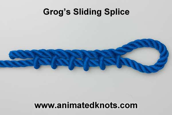 Magic Splicer for macrame cord splicing