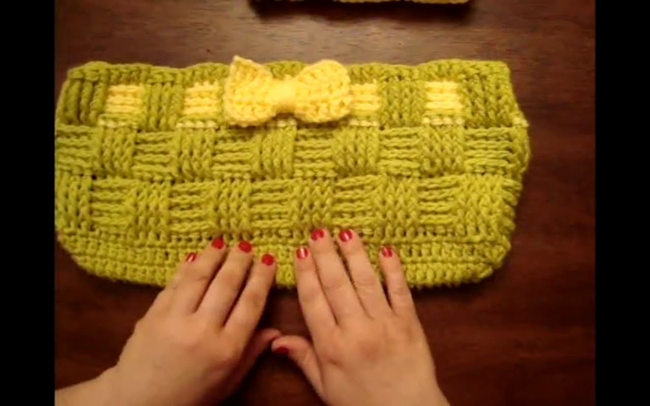 How to crochet Basket Weave Stitch By WOC