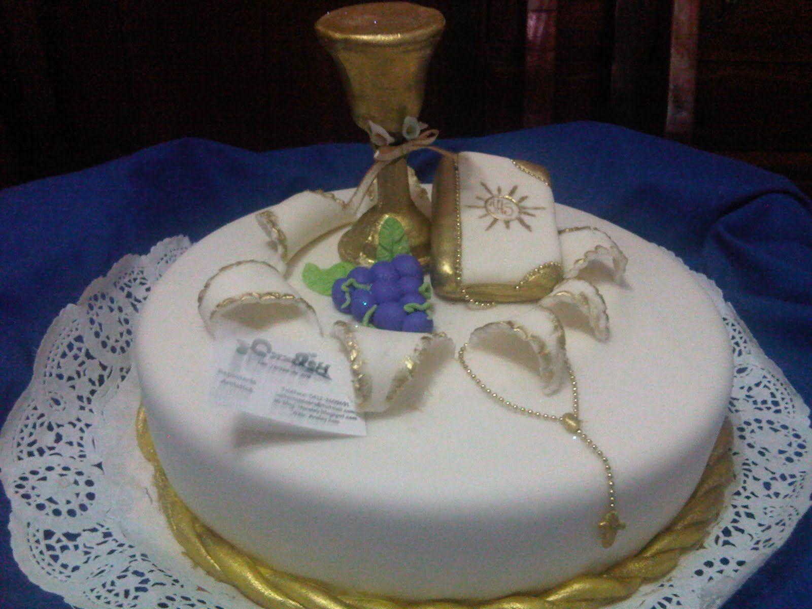 tortas de comunion modernas - Buscar con Google | tortas de comunion ...