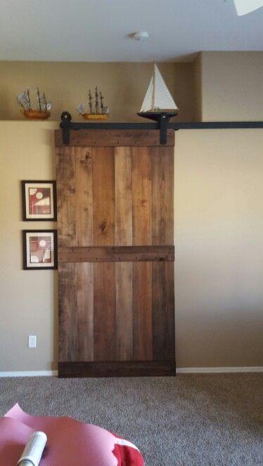 Figured Maple Barn Door