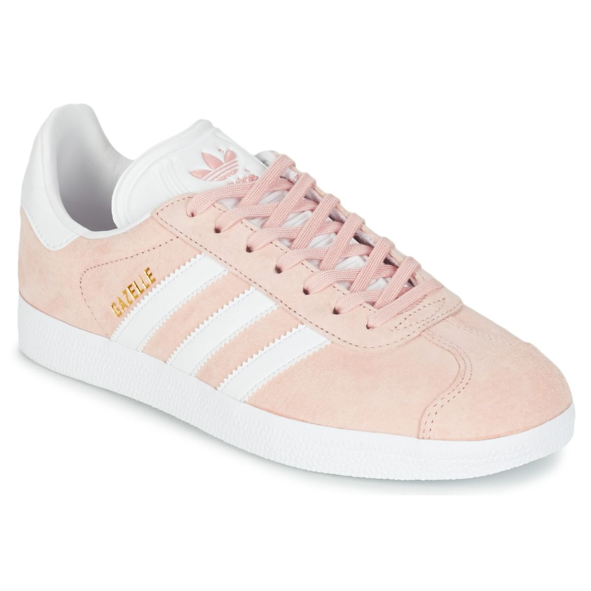 detailed look 60bed 26dd7 sapatilhas adidas   adidas Originals GAZELLE Rose - Livraison Gratuite avec  Spartoo.com .