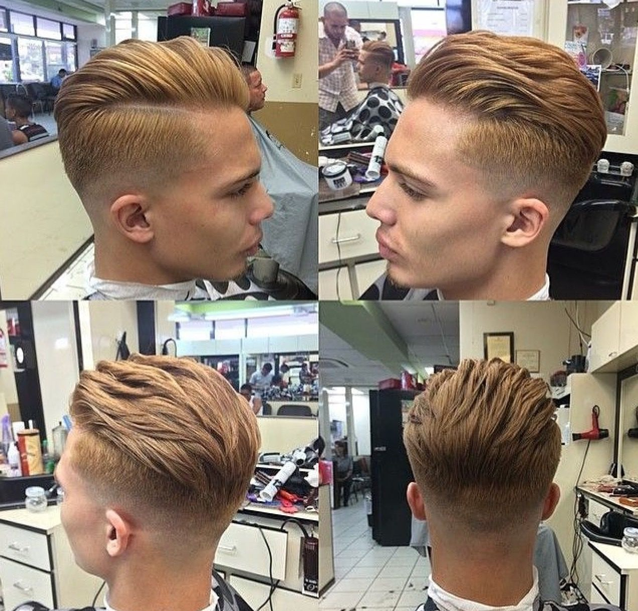 Mens short undercut haircut hairflips  the perfect menus hairstyle is just a hairflip away