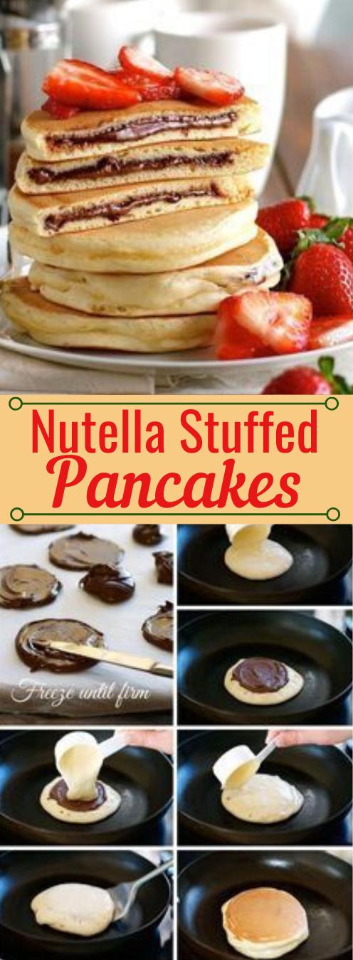Nutella Gefüllte Pfannkuchen #Nutella #Desserts #Pfannkuchen #Kürbis #Kuchen   – Delicious Cookies & Cake