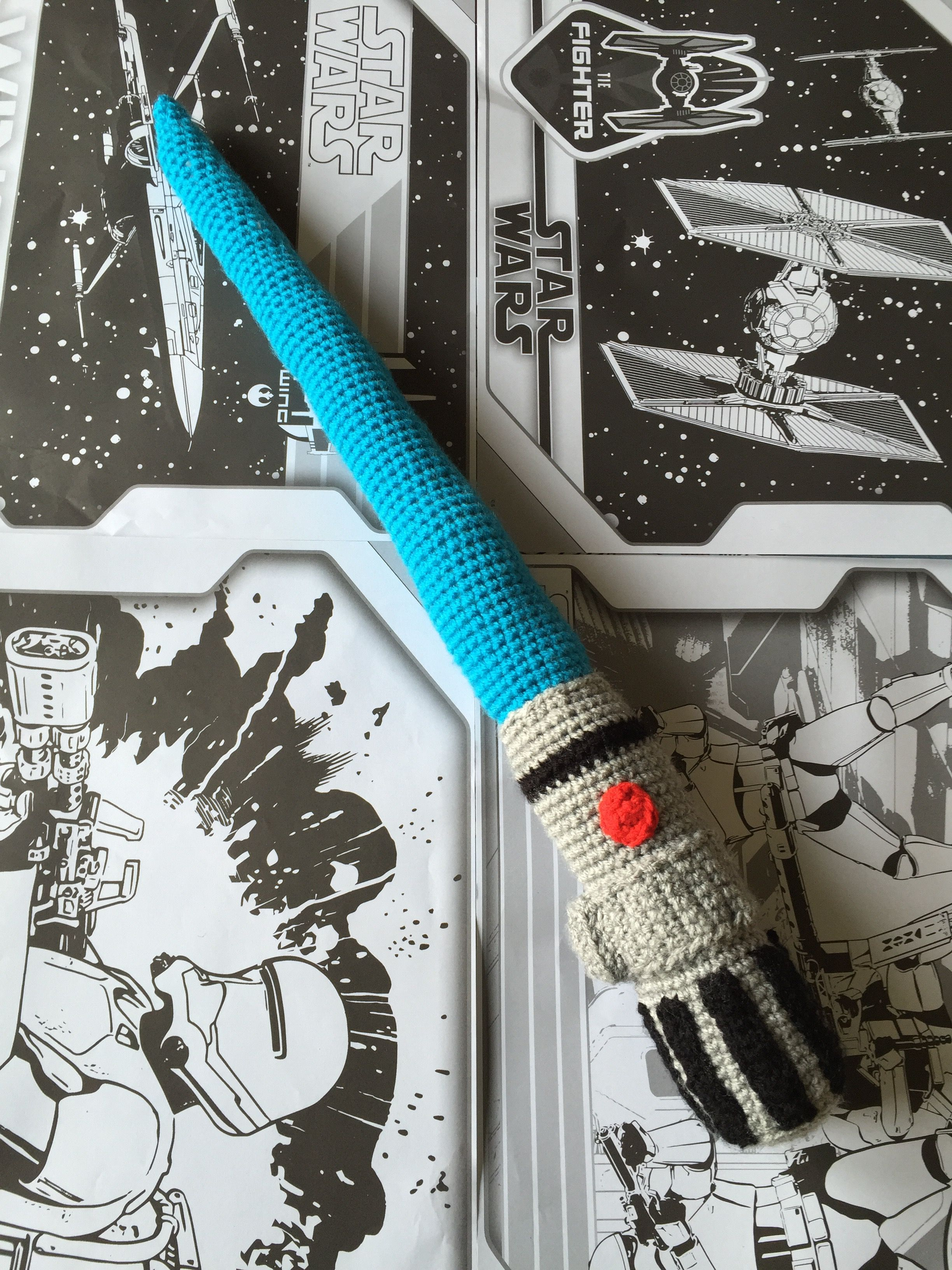 Finally took the plunge to try making one of these a crochet finally took the plunge to try making one of these a crochet star wars lightsaber bankloansurffo Images
