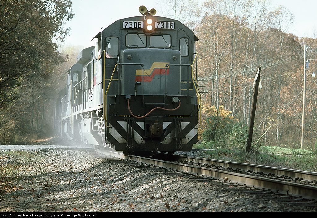 RailPictures.Net Photo: SBD 7306 Seaboard System GE U36C at S. of Kennesaw, Georgia by George W. Hamlin