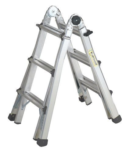 Cosco 20 413t1as Worlds Greatest Multi Position Type 1a Ladder Aluminum Cosco Ladder Wall Ladders