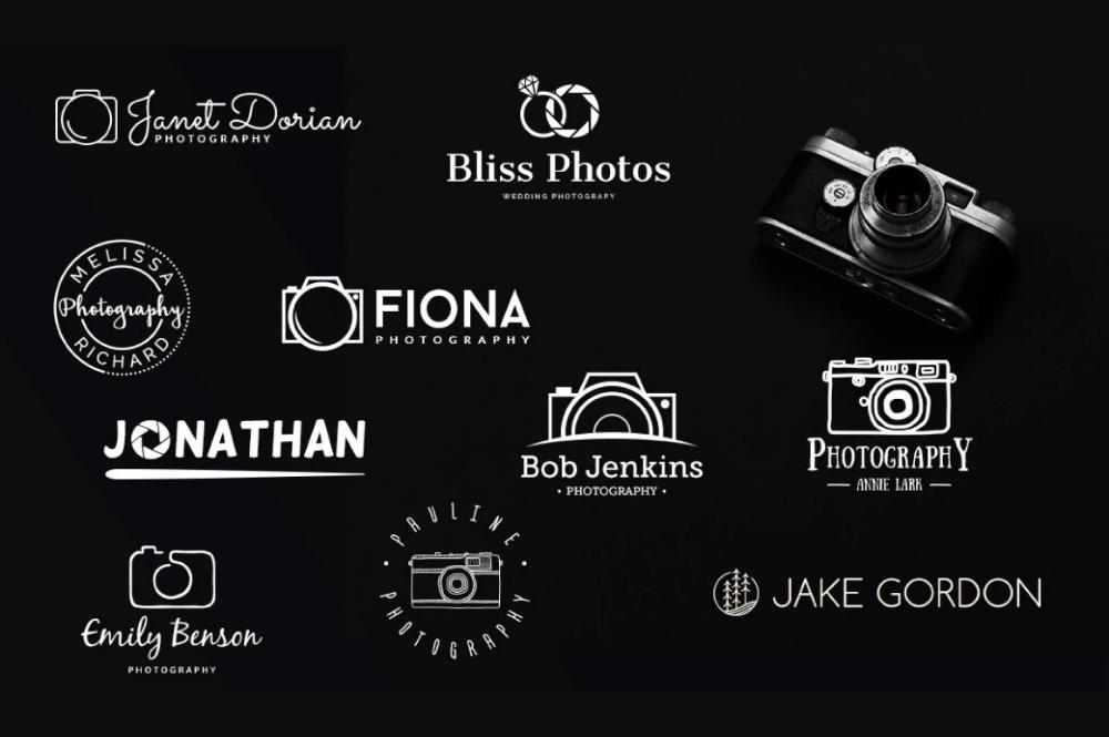 Логотип для фотографа примеры