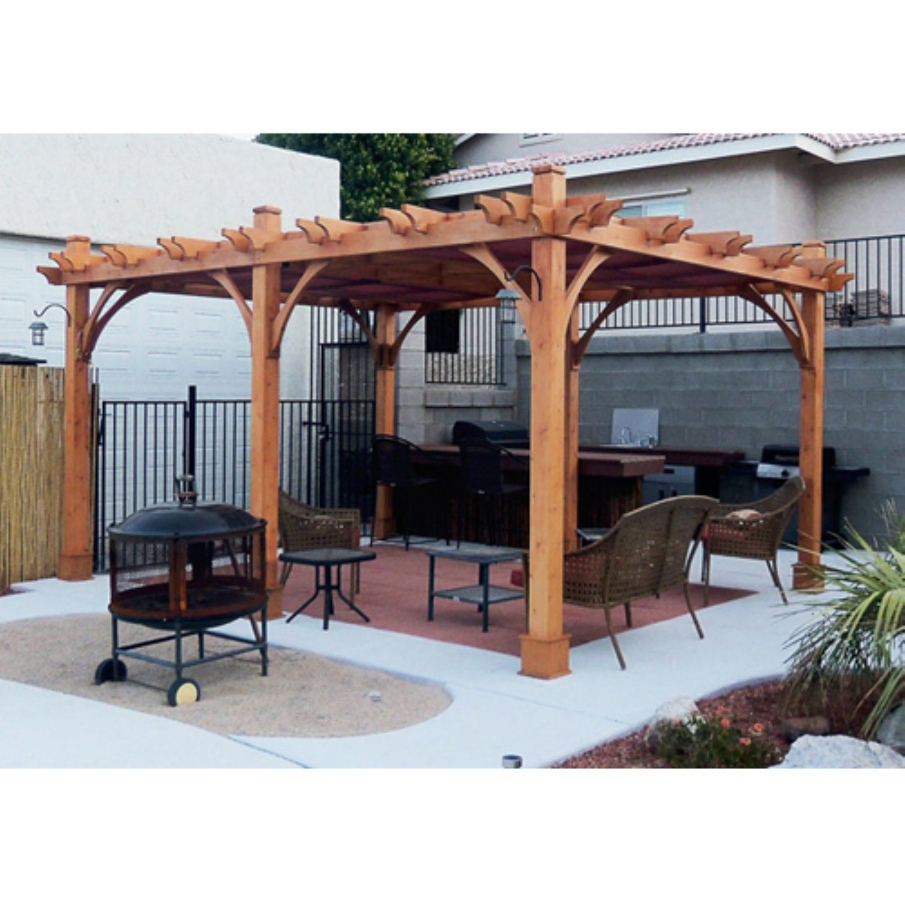 Outdoor Living Today Breeze 12 X 16 Ft Pergola Wood Pergola Pergola Pergola Plans