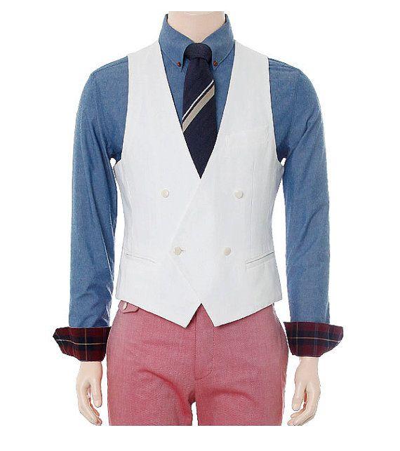 Gentleman Mens Vest bridesman vest groomsman vest Christmas gift Custom made 1a48   #groomsman's  #vest   @hpman