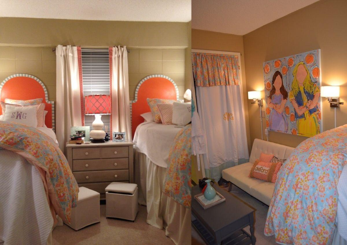 Ole Miss Martin Dorm Room | Ole Miss Dorm Room | Pinterest