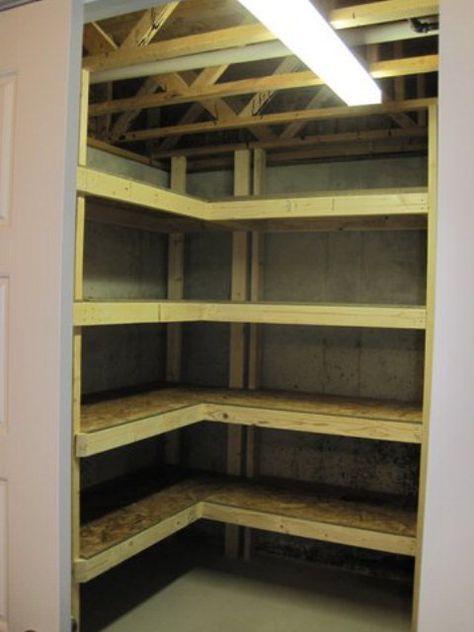 Finished basement storage closet 70 New Ideas en 2020 | Rangement au sous-sol, Rénovation de ...