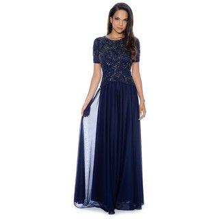 Decode 1.8 Women's Beaded Peplum Dress