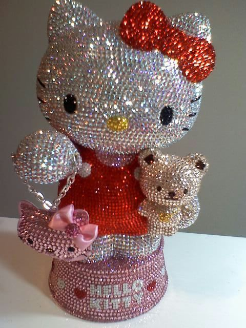Hello Kitty swarovski. 2 of my favorite things!