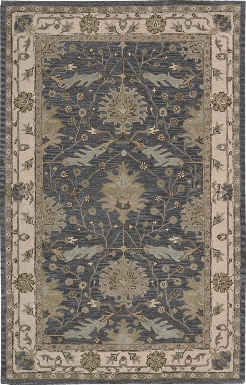 Nourison India House Collection Ih75 5 X 8 Area Rug Brick