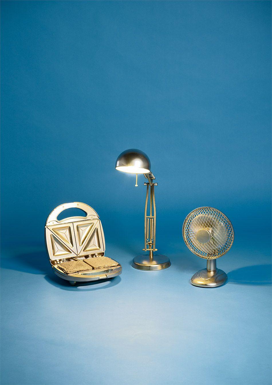 Fancy Vater Sohn u Heiliger Geist auf undarstellbar de Lampe Sandwichmaker u Ventilator