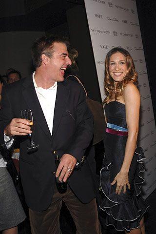 Chris Noth and Sarah Jessica Parker (style.com)