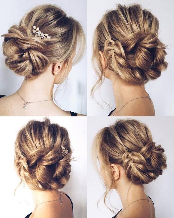 Pin By Anja Olsen On Hair Styles In 2019 Wedding Bun