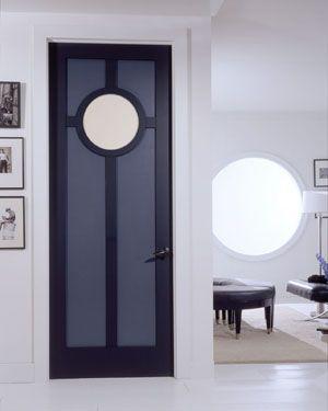 Art Deco Interior Door