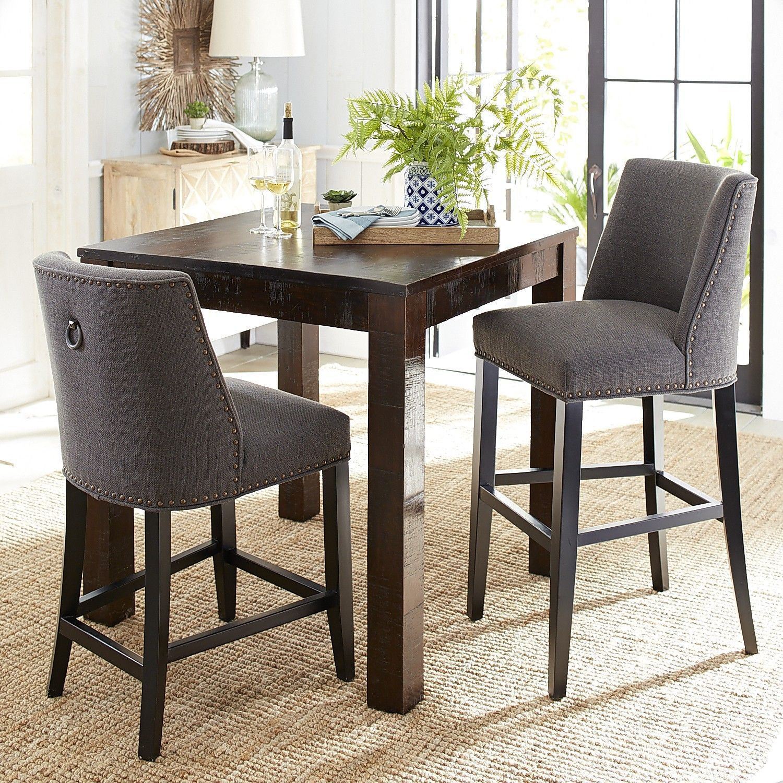 Wondrous Corinne Charcoal Counter Bar Stool Counter Bar Stools Uwap Interior Chair Design Uwaporg