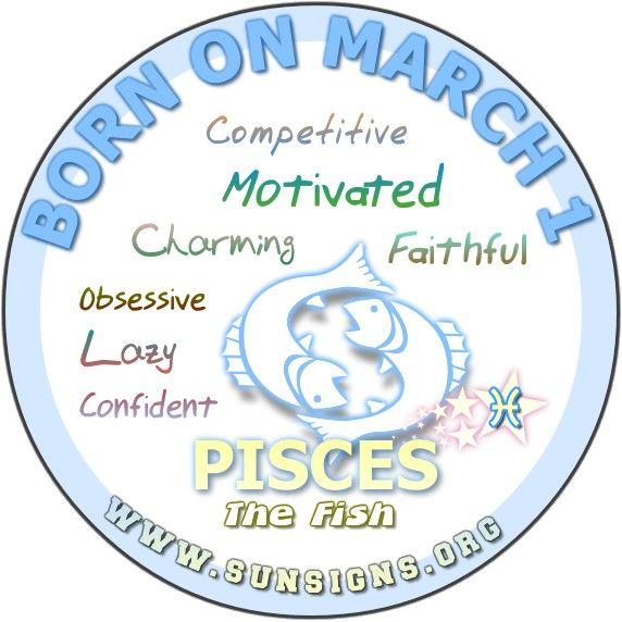 pisces march 1 birthday horoscope