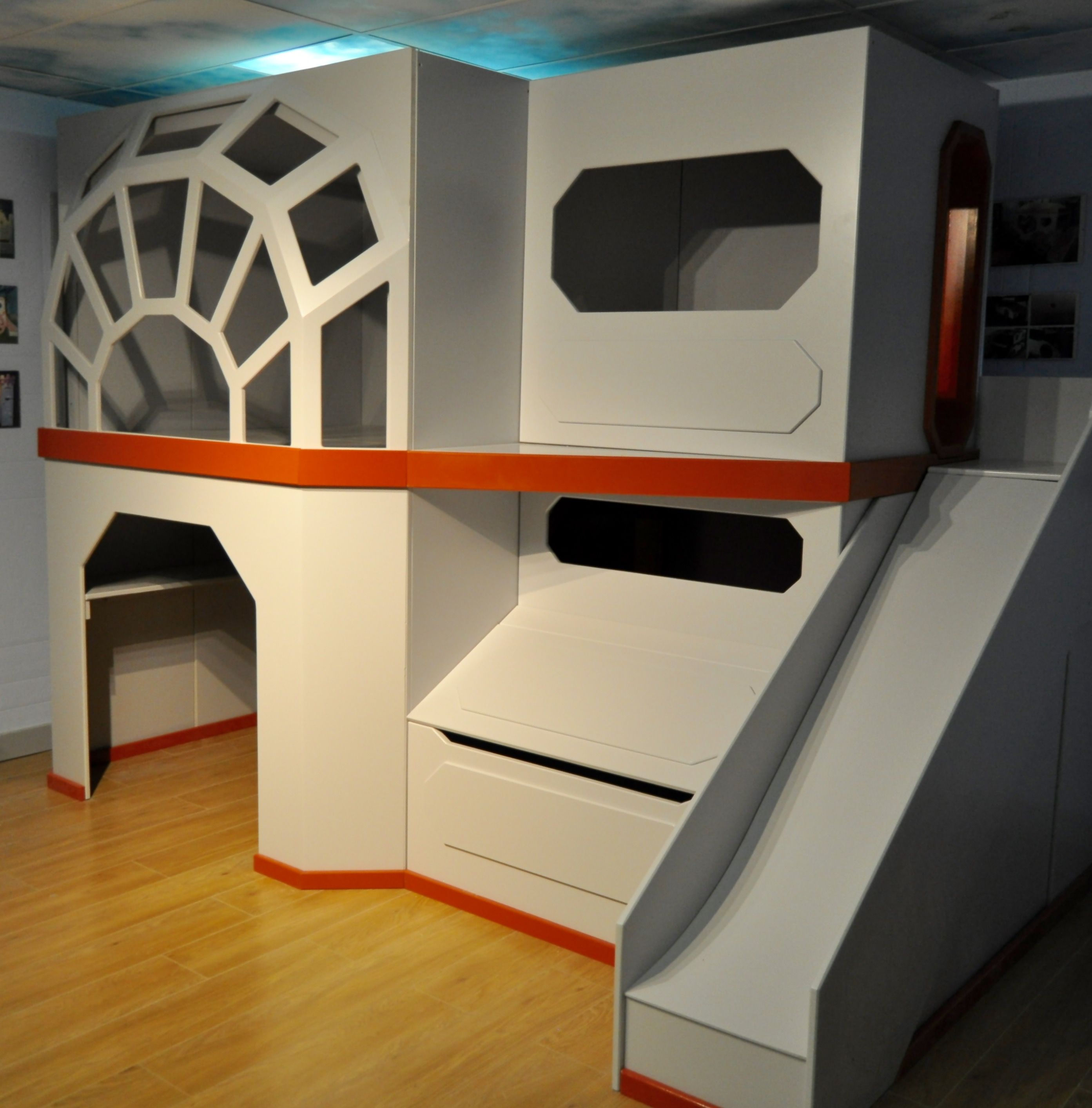 Star Wars Children S Bedroom Bunk Bed Idea Remodel Bedroom Kids Bedroom Remodel Guest Bedroom Remodel