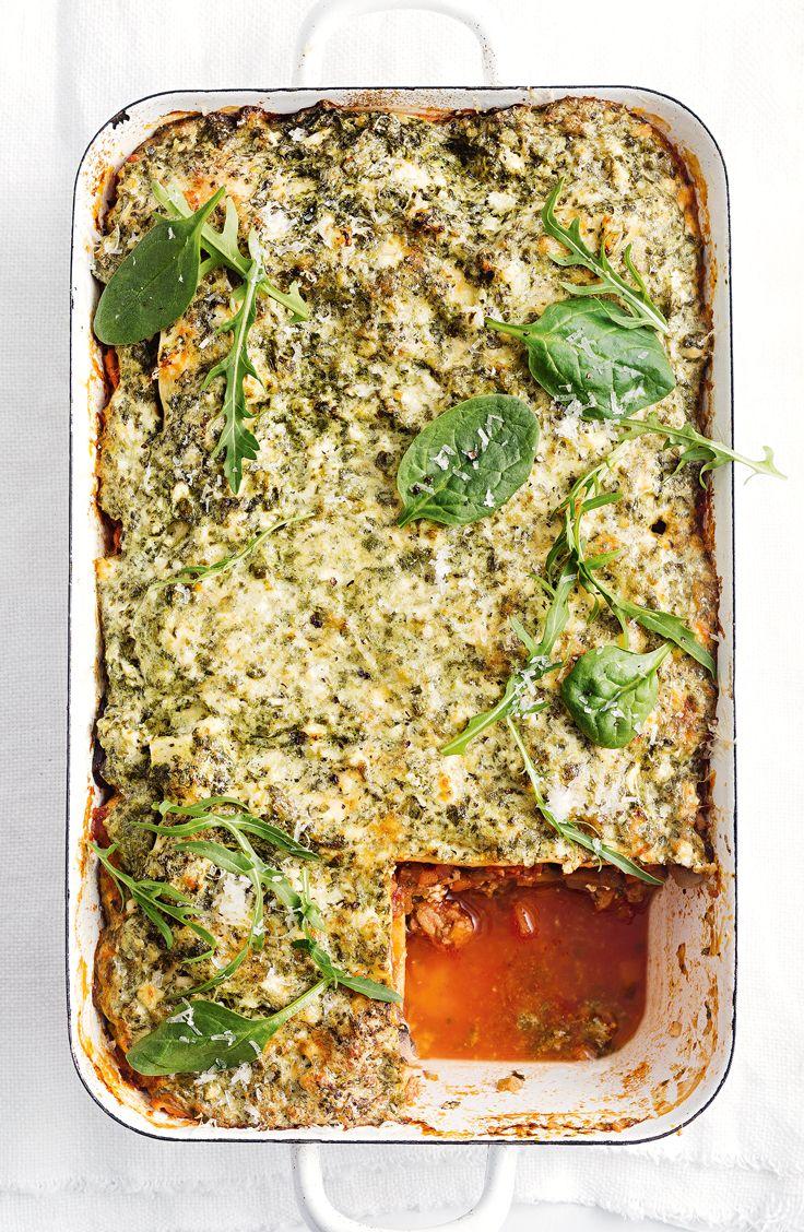 Turkey and mushroom lasagne | Recipe | Italian recipes ...