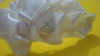Tiara decorada!! !!Parte 1 - Tiara de Princesa...lindaaa...e fácil!!!^^ - YouTube