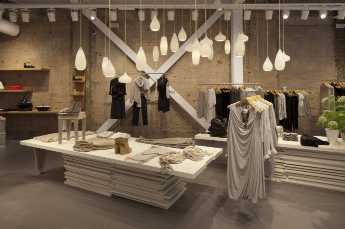 retail store with ambient lighting   Lighting Design for