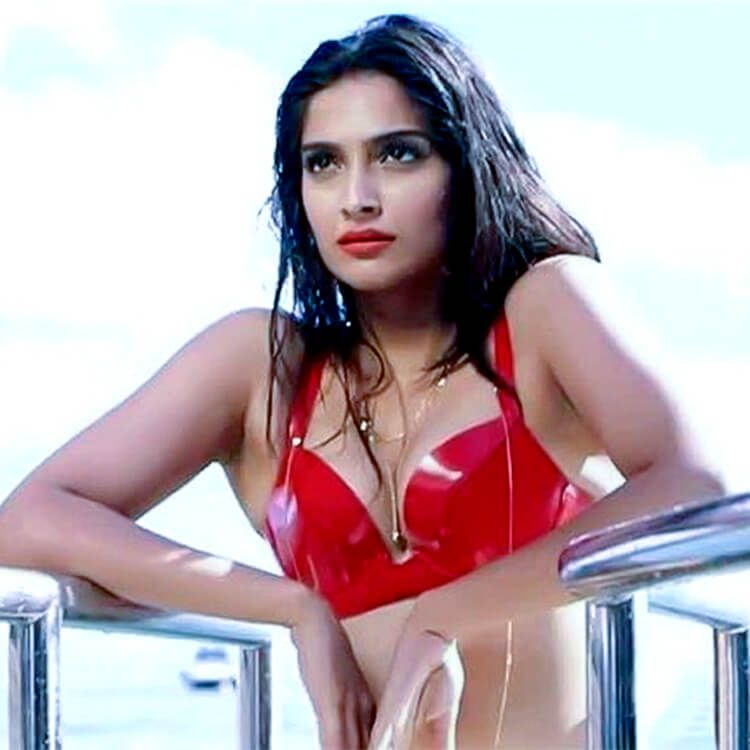 Sonam kapoor hot bikini think
