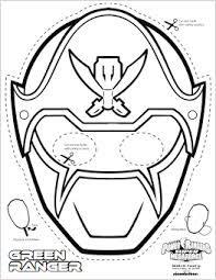 Resultado de imagen de masks to print masques - Masque de power rangers ...
