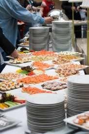 Discover Wedding Reception Menu Ideas Like This Etizer Buffet