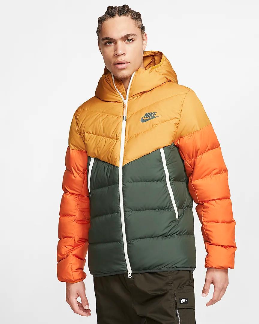 Nike Sportswear Windrunner Down Fill Hooded Puffer Jacket Nike Com Jackets Puffer Jackets Nike Sportswear [ 1080 x 864 Pixel ]
