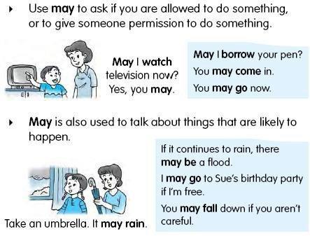 may - modal verb