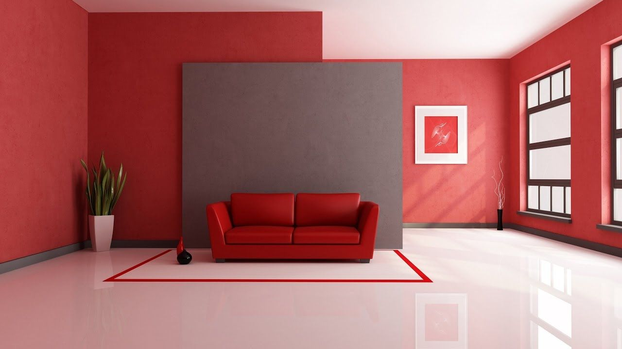 Hd Desktop Wallpaper Video With Music Living Room Red