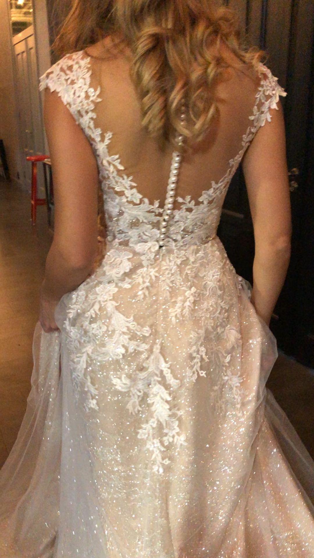 Enn by Olivia Bottega Lace Bodice A-Line Wedding D