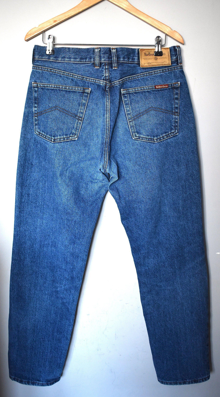Malboro classics vintage wornout effect denim jeans