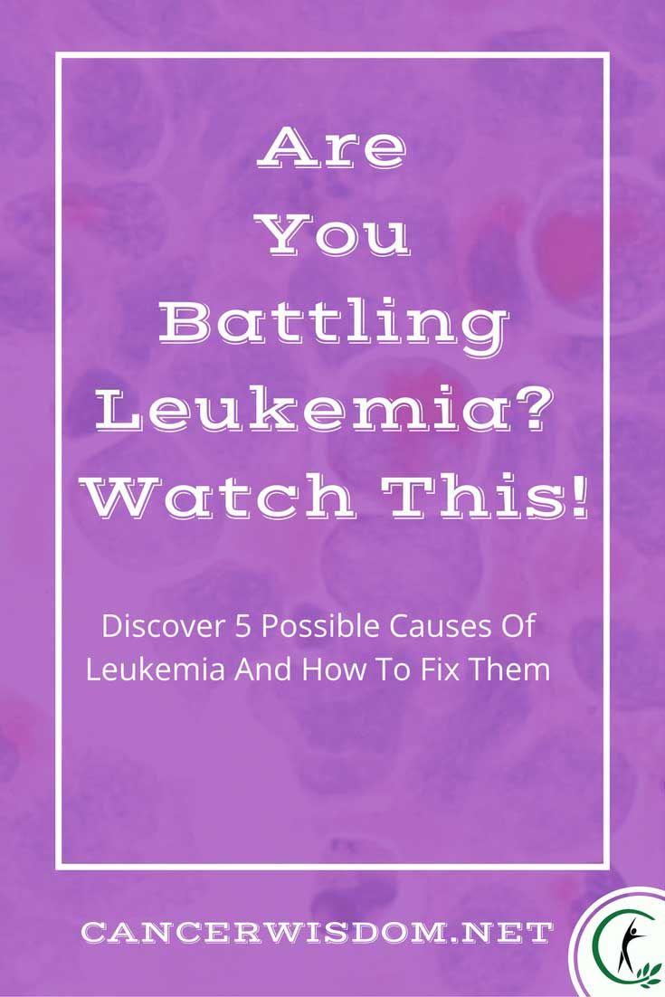 5 Tips That Will Change The Way You See Leukemia | Leukemia