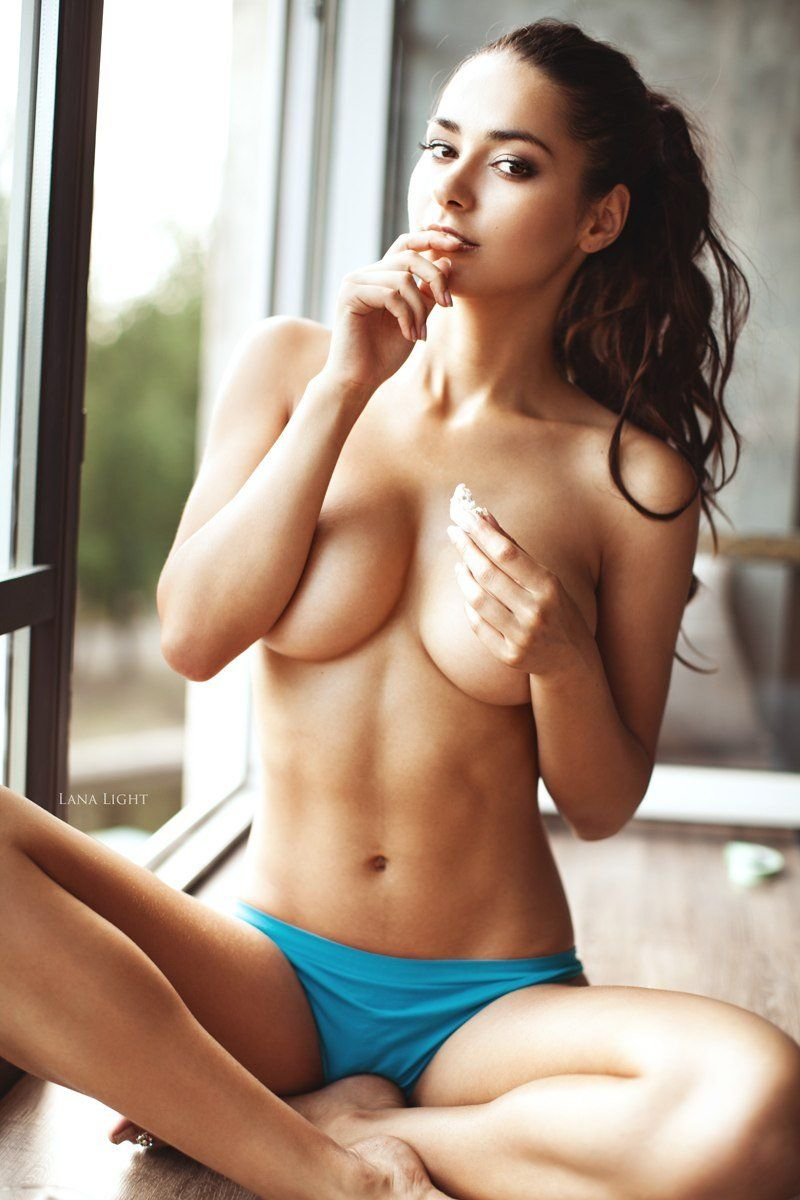 Latina naked body self