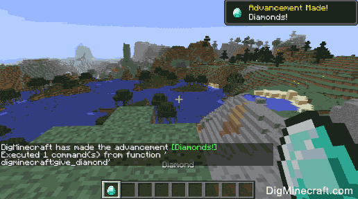 Try out the new /function command in Minecraft 1 12  Now you