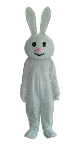 Childs Kids Childrens Plush Fluffy Bunny Fancy Dress Costume Outfit 1-5 Yrs
