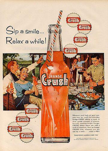 Imagenes Vintage - Retro | Orange crush, Slumber parties and Crushes