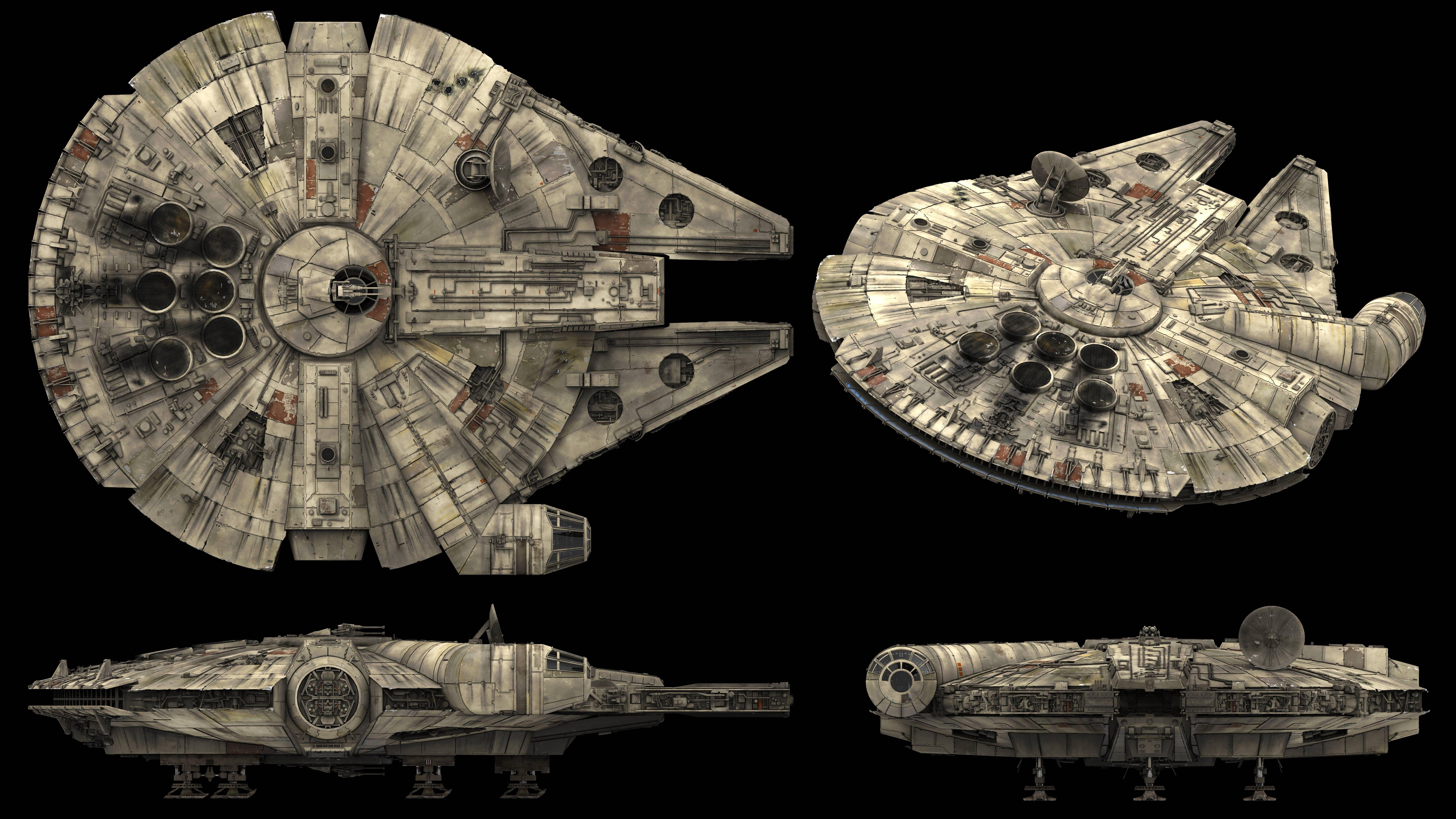 Millennium Falcon Side View Star Wars Wallpaper Star Wars Poster Millennium Falcon